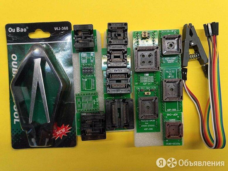 Колодки для программатор Minipro TL866II Plus по цене 2000₽ - Инструменты, фото 0