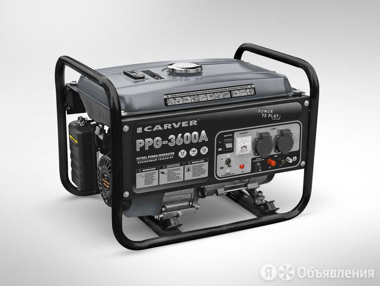 Генератор Carver PPG-3600A по цене 16630₽ - Насосы и комплектующие, фото 0