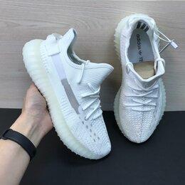 Кроссовки и кеды - Кроссовки Adidas Yeezy Boost 350 белые (A868), 0