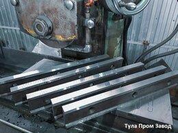 Принадлежности и запчасти для станков - Шлифовка плоских ножей для гильотинных ножниц по…, 0