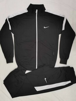 Спортивные костюмы - Мужской спортивный костюм Nike чер. (46-54), 0