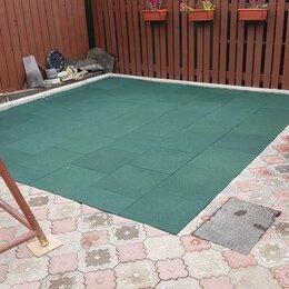 Тротуарная плитка, бордюр - Плитка из резиновой крошки , 0