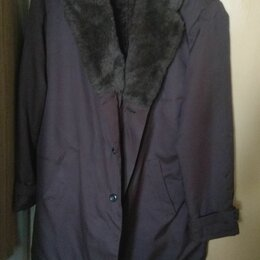 Пальто - Мужская куртка (пальто) большого размера, 0