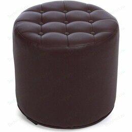 Пуфики - Пуф рокко коричневый, 0