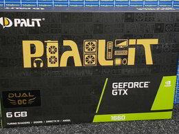 Видеокарты - Видеокарта Palit GeForce GTX 1660 6GB, 0