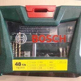 Наборы инструментов и оснастки - Набор принадлежностей Bosch V-line 48 шт. (жесткий кейс), 0