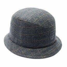 Головные уборы - Шляпа панама мужская шерстяная LF (серый), 0