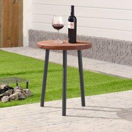 """Столы - Стол деревянный """"Пикник"""", d=40 см, h=50 см, массив сосны, 0"""