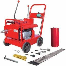 Инструменты для прочистки труб - Электромеханическая машина  для прочистки труб и каналов Powerfrase 600, 0