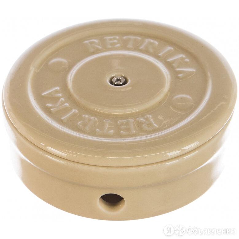 Цельнокерамическая распаечная коробка Retrika D-95 по цене 1250₽ - Электроустановочные изделия, фото 0