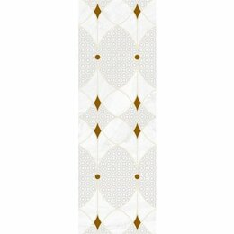 Керамическая плитка - Декор Constance grey light светло-серый 02 30х90 (5шт), 0
