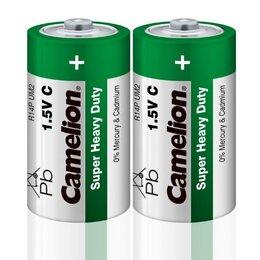 Батарейки - Элемент питания солевой R R14 (шринка 2шт) Camelion 1661, 0