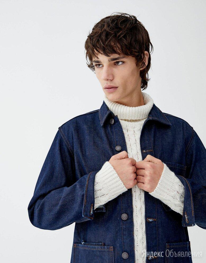 Новая Джинсовая куртка (пиджак) Bershka селвидж по цене 2299₽ - Куртки, фото 0