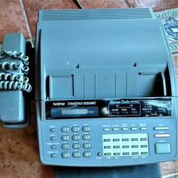 Факсы - Факс Модем Телефон Автоответчик Brother Intellifax 1550MC, 0
