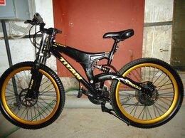 Велосипеды - велосипед titan cobra shimano - двухподвес диски, 0
