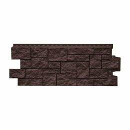 Фасадные панели - Фасадная панель Grand Line Дикий камень Стандарт Коричневый, 0