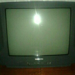 Телевизоры - Телевизор DAEWOO + родные пульт и антенна, 0