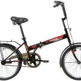Велосипеды - Велосипед складной NOVATRACK TG30 черный, 0