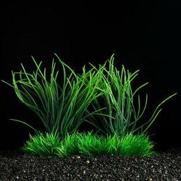 Растения для аквариумов и террариумов - Растение искусственное аквариумное, 15 см, 0