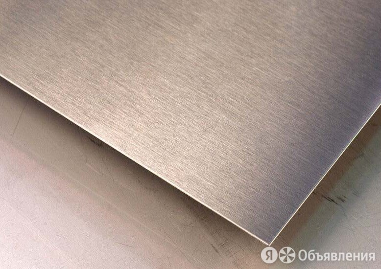 Лист нержавеющий 110х1000х2000 мм 08Х17Т по цене 78850₽ - Металлопрокат, фото 0