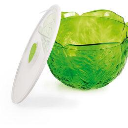Тарелки - Миска для салата с крышкой SNIPS 4л, пластик, 0