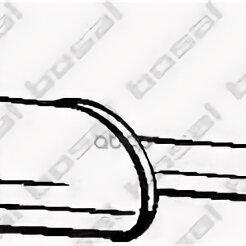 Выхлопная система - Глушитель Средний Hyundai I30 2007-2011 / Elantra 2006-> Bosal арт. 278-671, 0