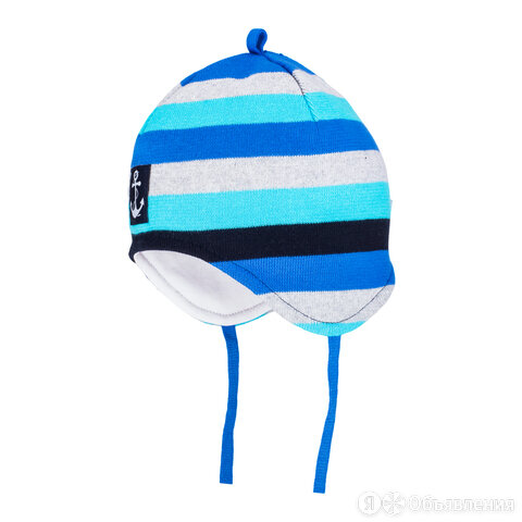 Весенняя шапка Satila ANCHY для мальчика на завязках по цене 399₽ - Головные уборы, фото 0