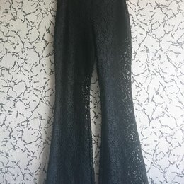 Брюки - Кружевные брюки, 0