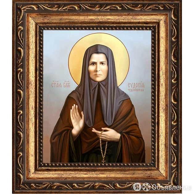 Евдокия (Маханькова) Чудиновская блаженная. Икона на холсте. по цене 2090₽ - Картины, постеры, гобелены, панно, фото 0