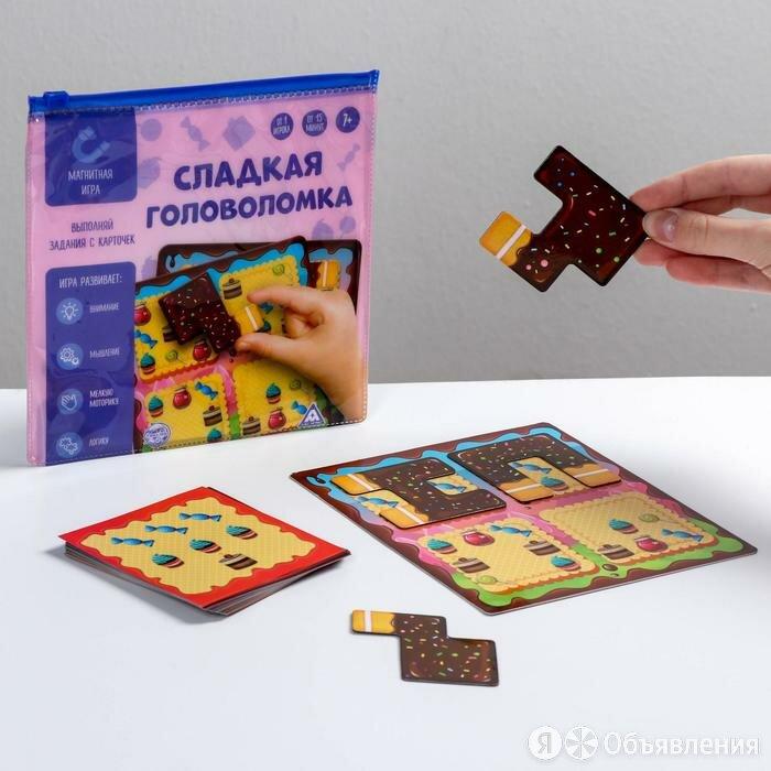 Магнитная игра «Сладкоежка» по цене 550₽ - Настольные игры, фото 0