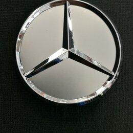 Шины, диски и комплектующие - Колпачок для диска Mercedes - benz 75mm, 01348, 0