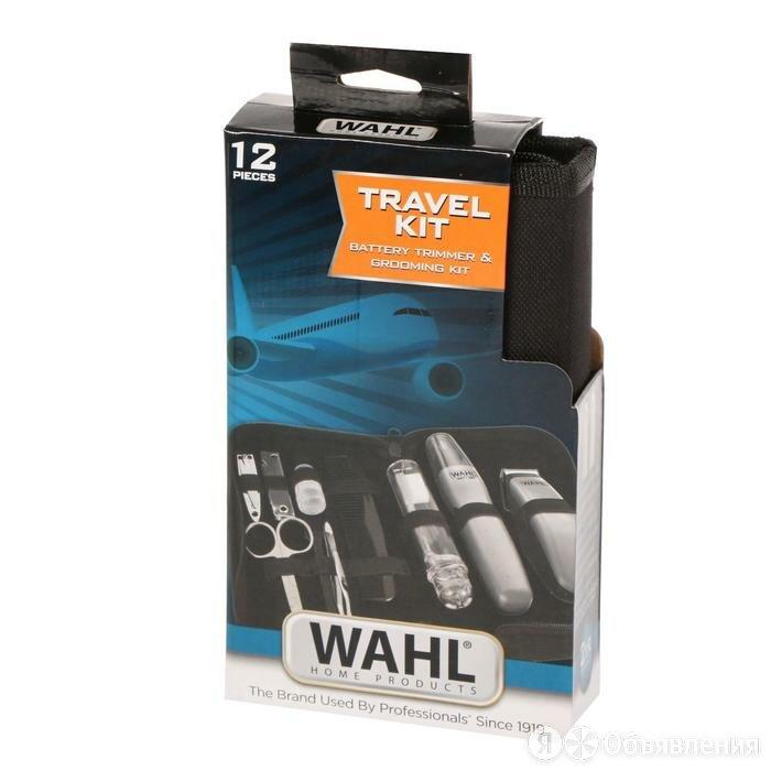 Набор Триммер Wahl Travel Kit 9962-1816, 0.7-12 мм, серебристый 7076077 по цене 2187₽ - Триммеры, фото 0