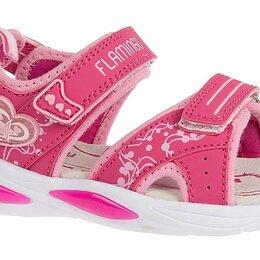 Босоножки, сандалии - Сандалии  для девочки Flamingo, 0