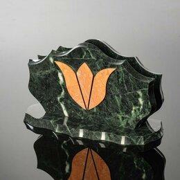 """Визитницы и кредитницы - Визитница """"Тюльпан"""", 220х90х120 мм, змеевик, 0"""
