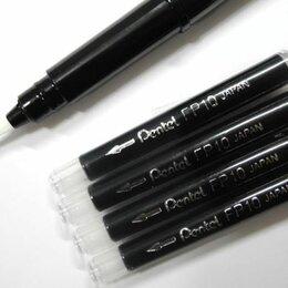 Письменные и чертежные принадлежности - Ручка-кисть Brush Pen для каллиграфии+4картриджа GFKPF-A, 0