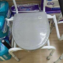 Приборы и аксессуары - Кресло-туалет с опускающимися подлокотниками, арт. fs 813, 0