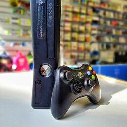 Игровые приставки - Xbox 360 Slim 250gb б.у, 0