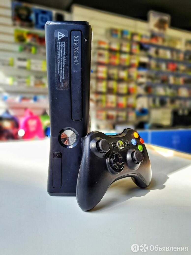 Xbox 360 Slim 250gb б.у по цене 7500₽ - Игровые приставки, фото 0