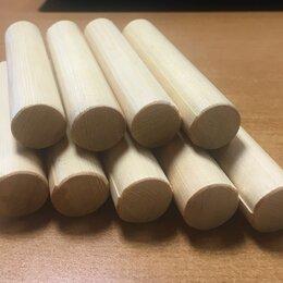 Пиломатериалы - Деревянный круглый погонаж шкант 20 мм, 0