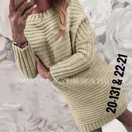 Платья - платье вязаное, размер 46, цена 600, 0
