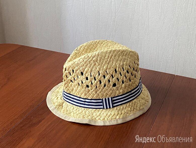 Детская соломенная шляпа H&M 74 размер по цене 100₽ - Головные уборы, фото 0