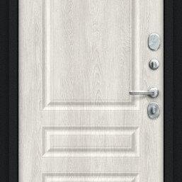 Входные двери - Дверь входная Пик 117.С14 NEW Букле черное/Casablanca, 0
