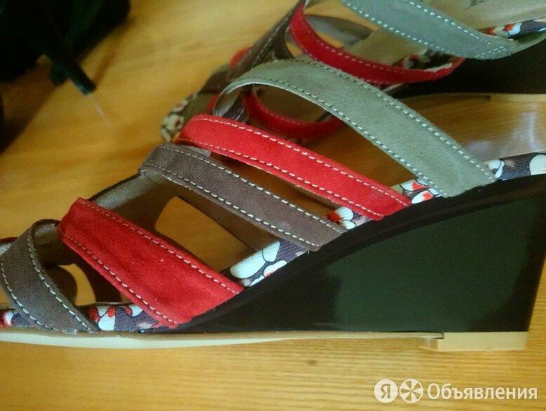 Шлепанцы новые,кожа,на слитном каблуке по цене 450₽ - Шлепанцы, фото 0