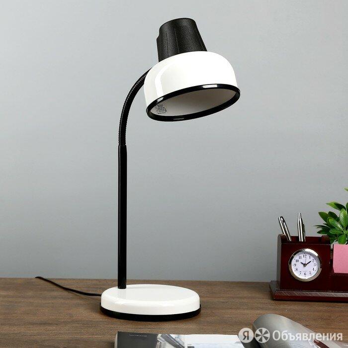 Настольная лампа БЕТАШ E27 60Вт белый гибк.стойка 45см по цене 2533₽ - Настольные лампы и светильники, фото 0