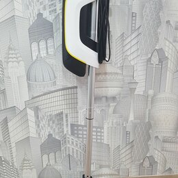 Вертикальные пылесосы - Пылесос ручной, вертикальный, безмешковый Karcher VC 5 Premium, б/у, 0