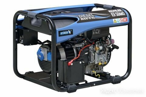 Дизельный генератор Kohler-Sdmo Diesel 6000 EXL C5 по цене 279220₽ - Электрогенераторы и станции, фото 0