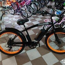Велосипеды - Велосипед электрический 350W GH-32702-2E полуфэт, 0