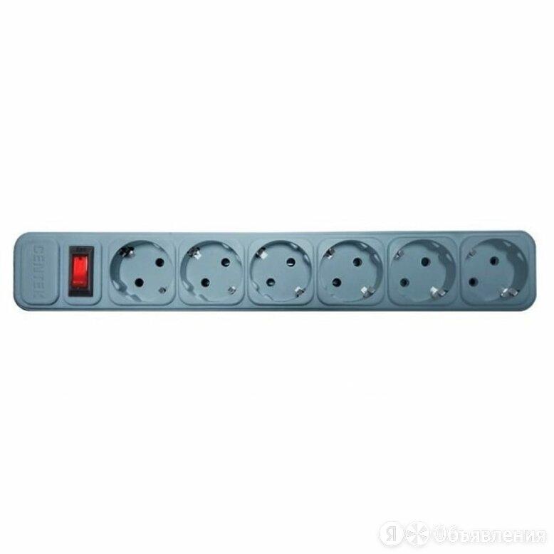 Сетевой фильтр Centek CT-8901-6-4,5 Gray по цене 759₽ - Источники бесперебойного питания, сетевые фильтры, фото 0