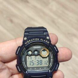 Наручные часы - Часы casio vibration alarm w-735h, 0