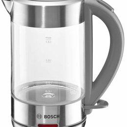 Электрочайники и термопоты - Электрический чайник BOSCH TWK 7090B, 0